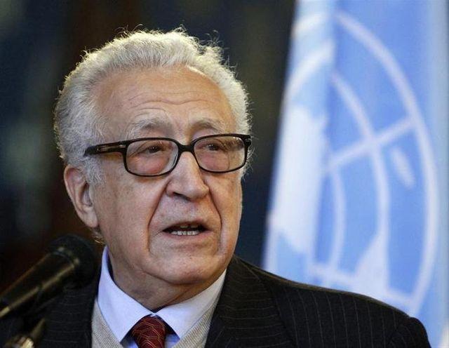 lakhdar brahimi propose un dialogue inter-syrien dans des locaux de l'onu
