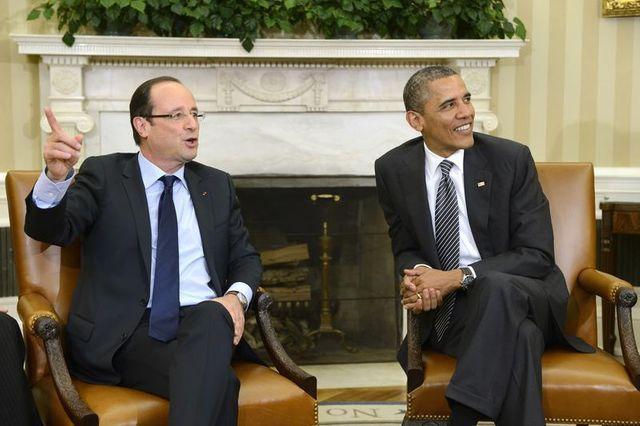 françois hollande débute ce lundi une visite d'état aux états-unis