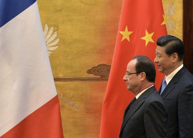la france espère rééquilibrer ses échanges économiques avec la chine