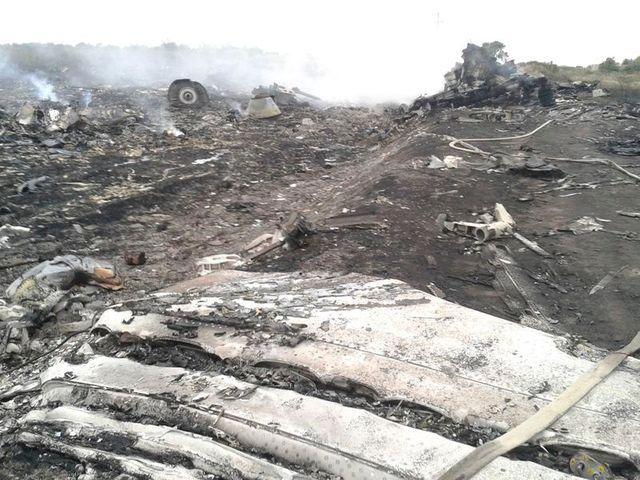 un boeing malaisien abattu au-dessus de l'ukraine