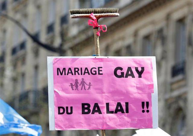nouvelle manifestation contre le mariage gay à paris