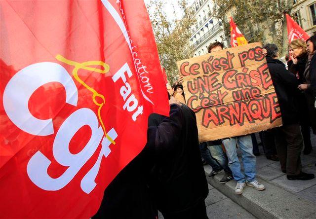 journée d'action intersyndicale contre l'austérité