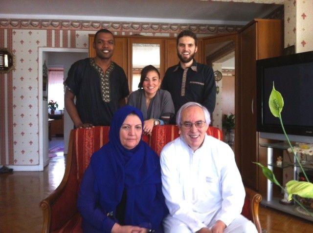 Ludovic et sa famille (en 2013)
