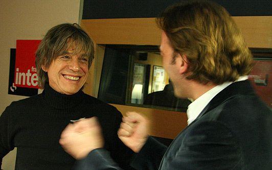 Jean-louis Aubert et François Busnel