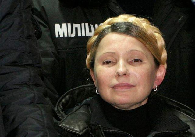 l'ex-premier ministre ukrainien ioulia timochenko est libre