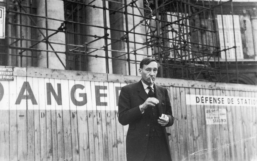 William S. Burroughs à Paris en 1964