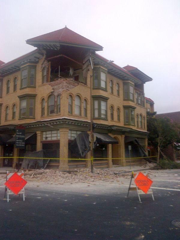 séisme à napa, en californie, des dizaines de blessés