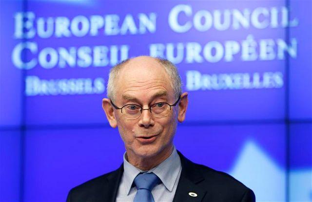 herman van rompuy annonce un accord sur le budget européen