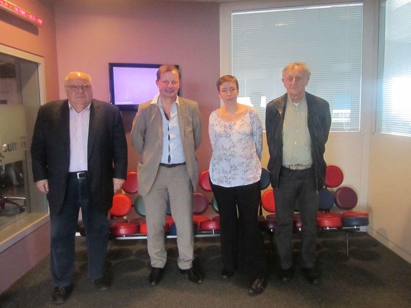Alain Bergounioux, Géraud Guibert, Caroline de Haas et Bernard Ravenel.