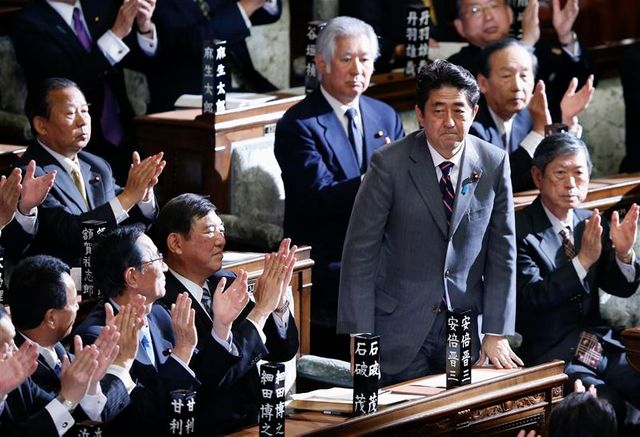 shinzo abe officiellement nommé premier ministre au japon