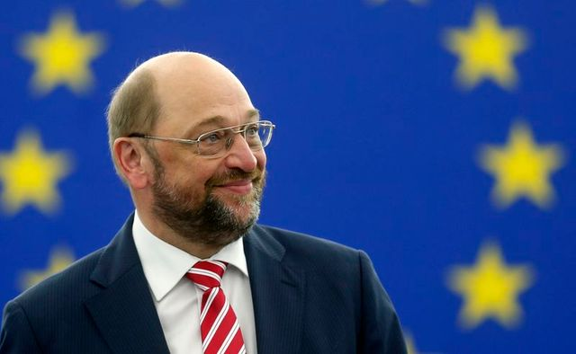 l'allemand martin schulz reconduit à la présidence du parlement européen