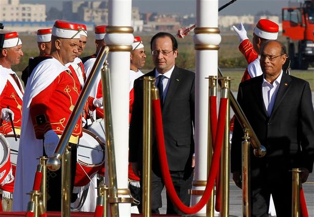 françois hollande en tunisie
