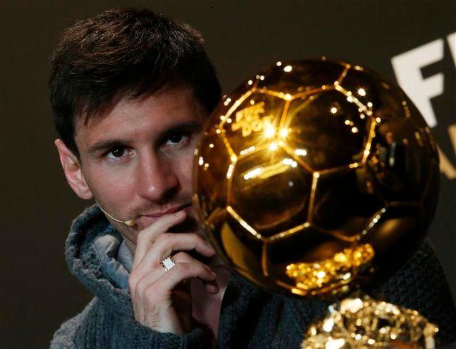 4e ballon d'or pour l'argentin lionel messi