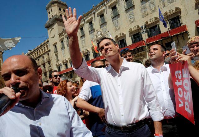 Pedro Sanchez, le leader du parti socialiste espagnol