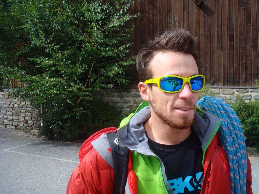 Raphaël Baguet guide et wingsuiter