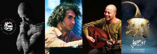 Pochette <em> Abu Nawas Rhapsody</em> - Tigran Hamasyan - Dhafer Youssef - Festival <em>Jazz Sur Son 31</em>