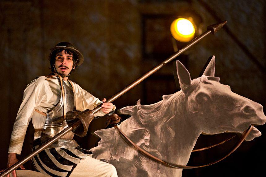 Jérémie Le Louët, metteur en scène et Don Quichotte