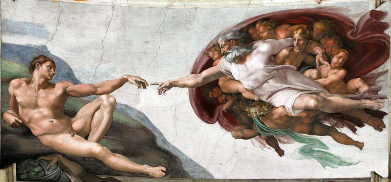 Creation of man (1508-1512)