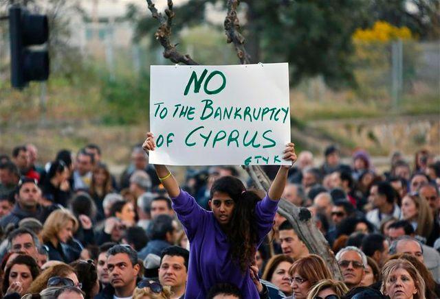 négociations difficiles entre chypre et ses bailleurs de fonds