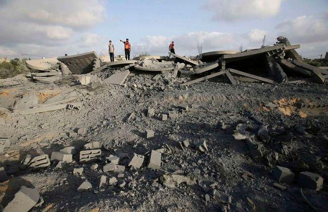 israël va bombarder le nord de la bande de gaza