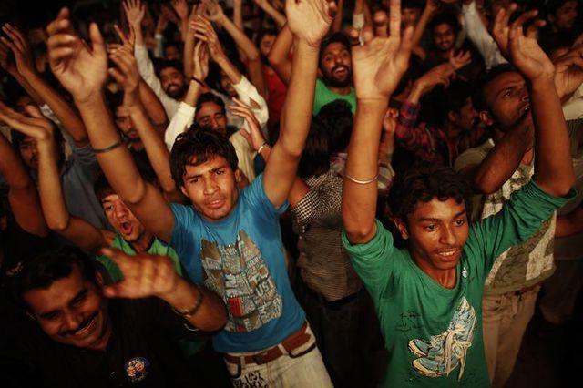 nawaz sharif revendique la victoire électorale au pakistan