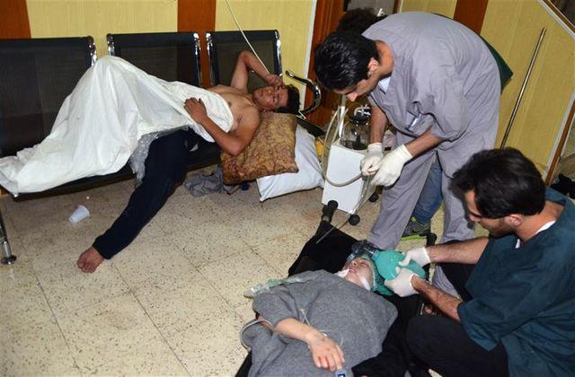 accusé d'utiliser des armes chimiques, le régime syrien dément
