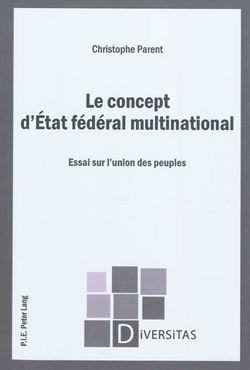 Le concept d'Etat fédéral multinational