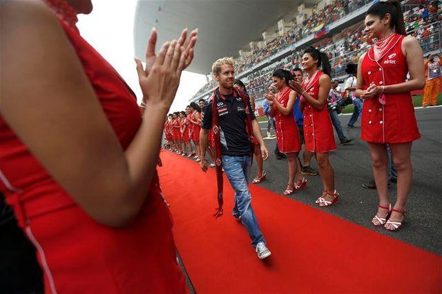 vettel remporte en inde un quatrième titre mondial consécutif