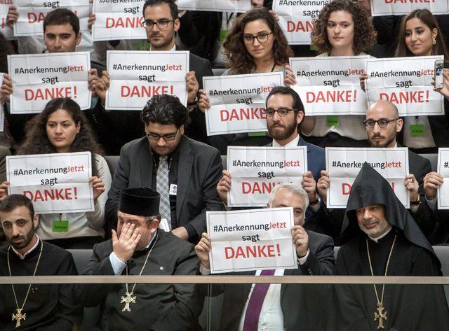 Le Bundestag a voté la reconnaissance du génocide arménien, aujourd'hui.