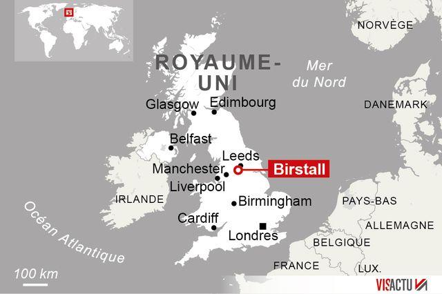 L'agression s'est produit à la mi-journée à Birstall
