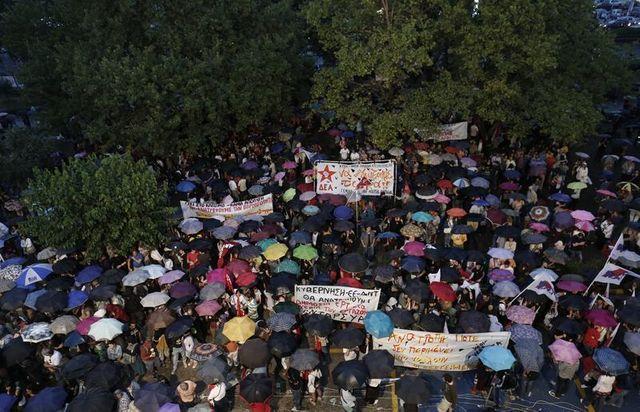 nouvelle journée de grève en grèce après la fermeture de la télévision publique