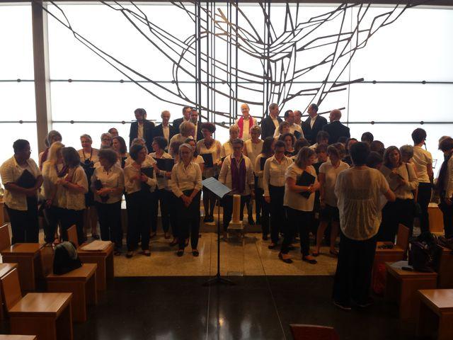 La Ritournelle en concert à l'église Notre-Dame de Pentecôte à la Défense