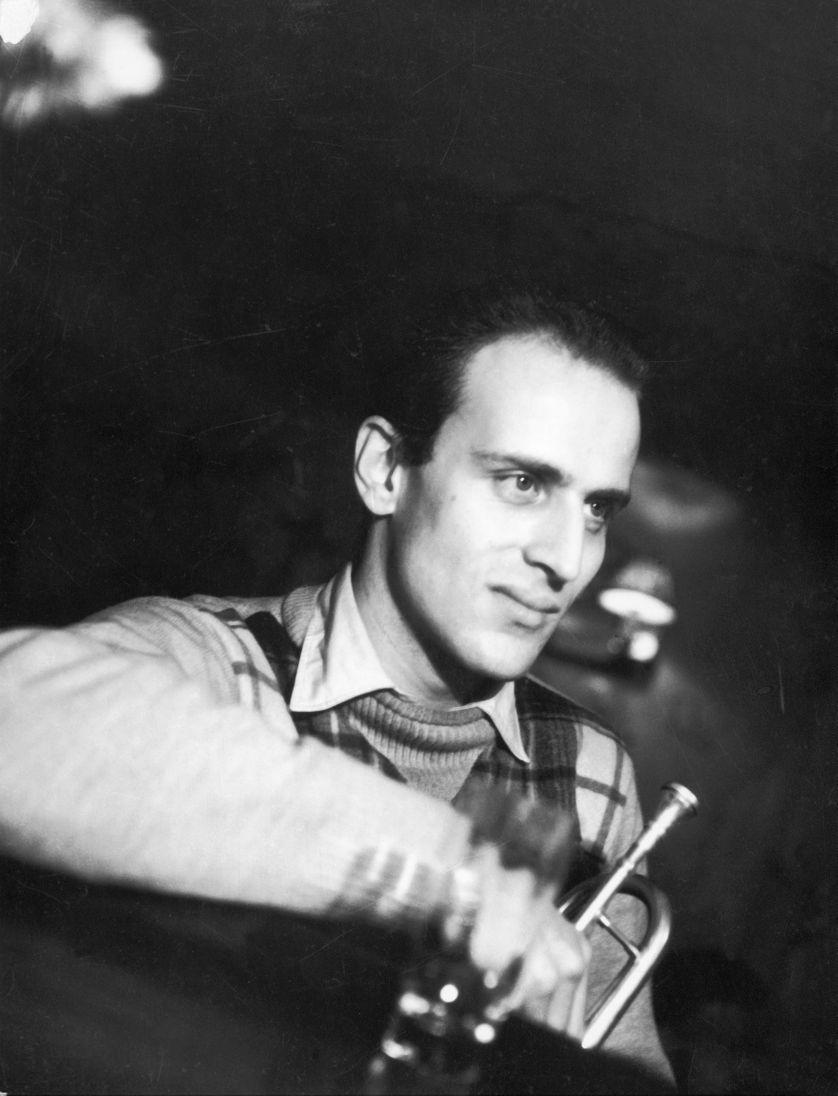 """Boris Vian au club de jazz """"Le Tabou"""""""