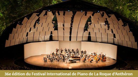 36e Festival international de piano - La Roque d'Anthron 2016
