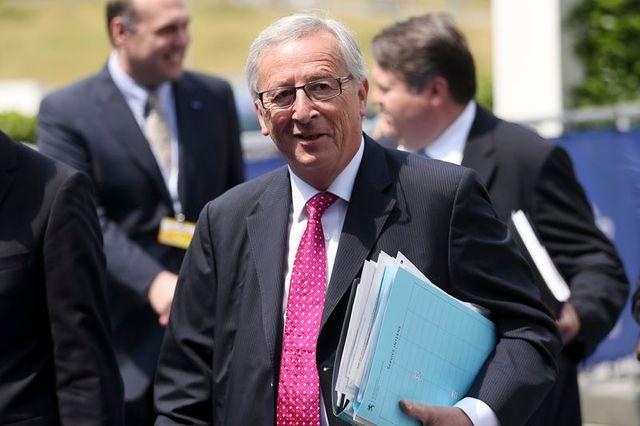 jean-claude juncker dans l'ombre du sommet européen
