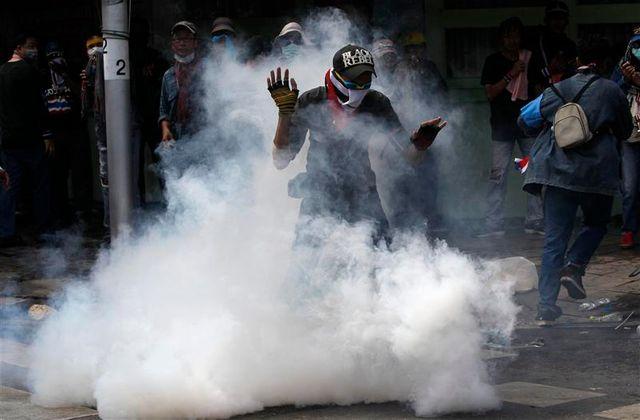 affrontements à bangkok