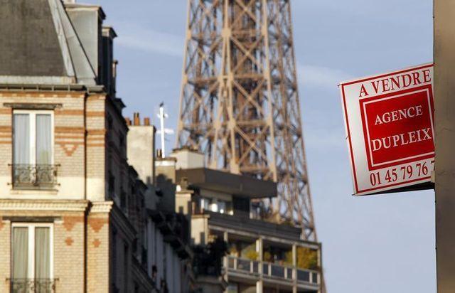 baisse des prix de l'immobilier à paris et dans le reste de la france
