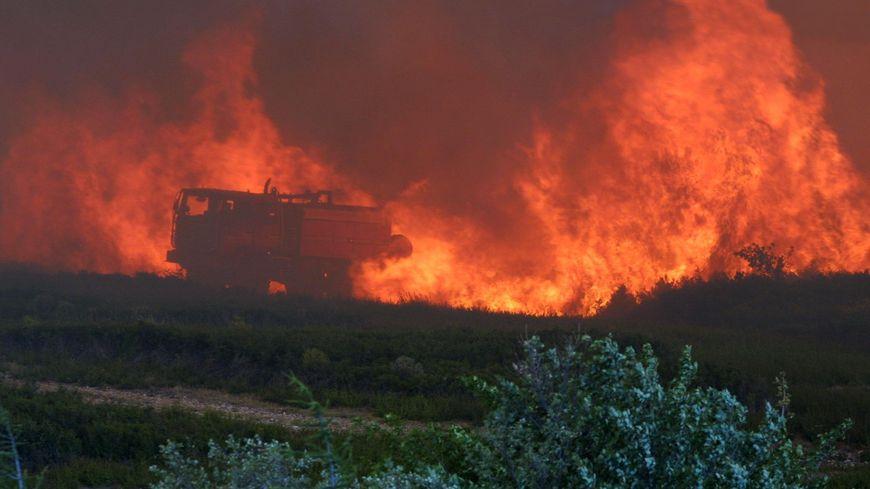 Incendie dans les Bouches-du-rhône