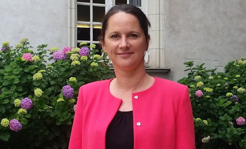 Johanna Rolland, maire de Nantes