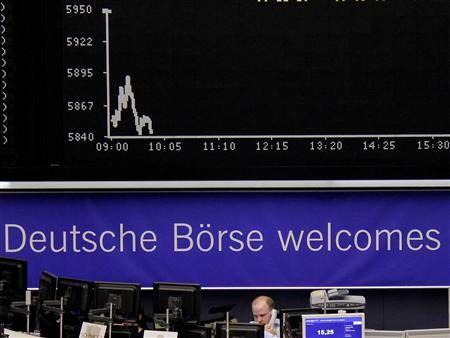 rechute des bourses européennes