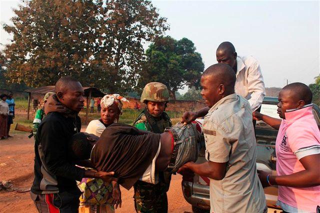 des soldats tchadiens ouvrent le feu à bangui