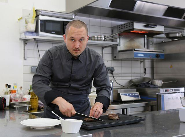 David Serre, le chef-cuisinier des Bleus.