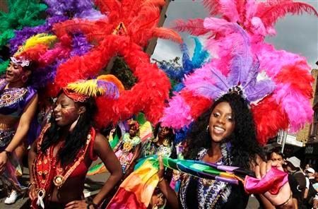 londres au rythme du carnaval de notting hill