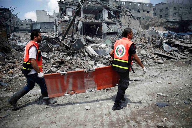 pilonnages de tsahal à gaza, plus de 60 morts