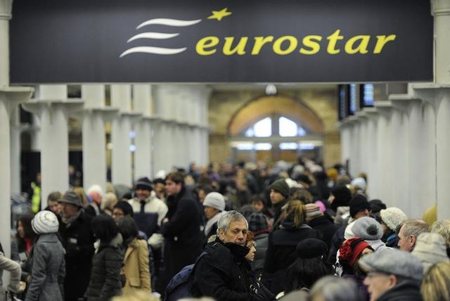 londres compte se désengager d'eurostar