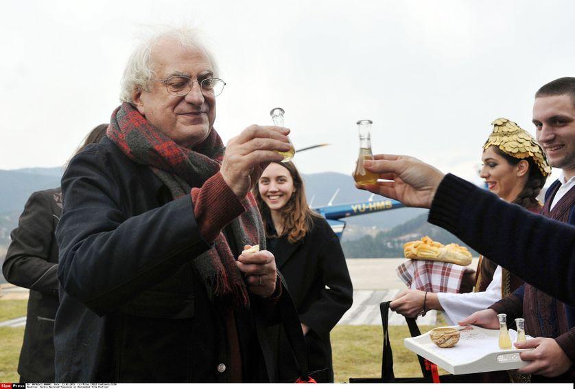 Bertrand Tavernier accueillit au Festival du Film de Kustendorf d'Emir Kusturica