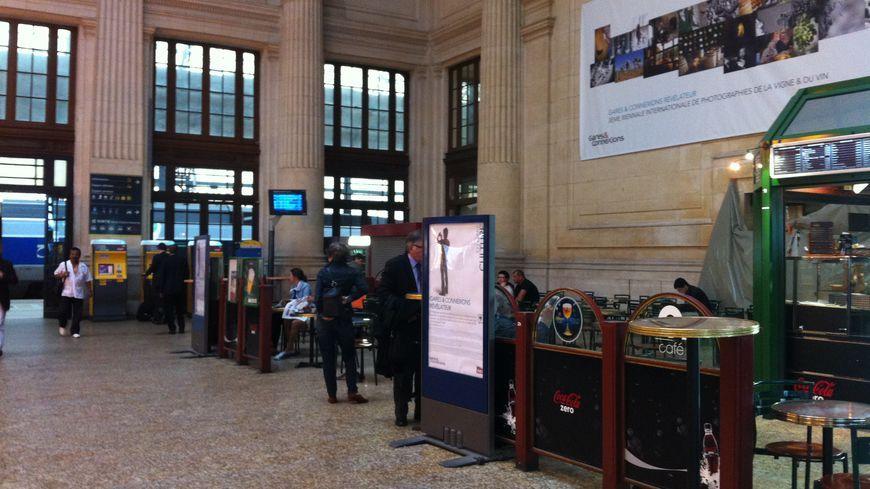 La gare Saint-Jean de Bordeaux