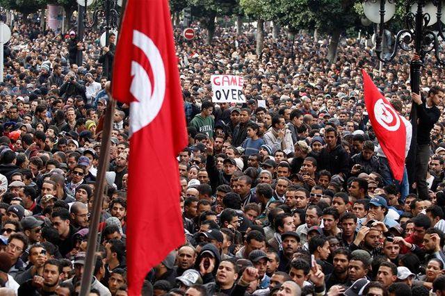 la tunisie, pionnière du printemps arabe