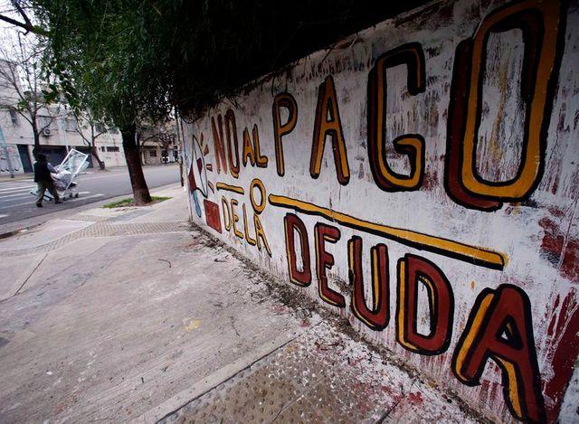 l'argentine en défaut sur sa dette