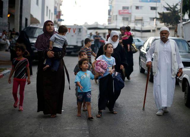 quarante morts dans le pilonnage d'un quartier de gaza